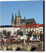 Hradcany - Prague Castle Canvas Print by Michal Boubin
