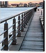 Hudson River Park Canvas Print by JC Findley