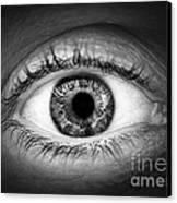 Human Eye Canvas Print by Elena Elisseeva