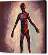 Humanoid Canvas Print by Dayna Reed