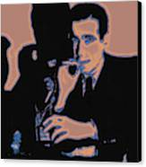 Humphrey Bogart And The Maltese Falcon 20130323m88 Canvas Print by Wingsdomain Art and Photography