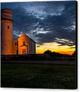 Hunstanton Lighthouse Canvas Print by Andrew Lalchan
