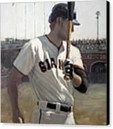 Hunter Pence On Deck Canvas Print