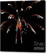 Huron Ohio Fireworks 11 Canvas Print by Jackie Bodnar