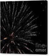 Huron Ohio Fireworks 14 Canvas Print by Jackie Bodnar