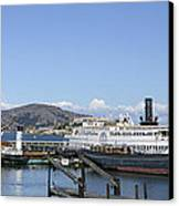 Hyde Street Pier - San Francisco Canvas Print by Daniel Hagerman
