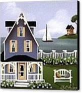 Hydrangea Cove Canvas Print