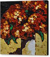 Hydrangeas II Canvas Print by Vickie Warner
