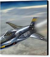 Hypersonic Canvas Print by Peter Chilelli