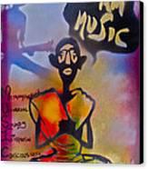 I Am Music #1 Canvas Print