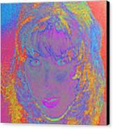 I Am Woman Canvas Print by Elizabeth S Zulauf