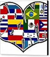 I Love Immigration Reform Canvas Print by Alexis Heath