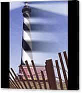 I Saw The Lighthouse Move Canvas Print