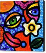 I Think I Like You Canvas Print by Steven Scott