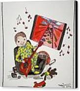 I Won Dad Canvas Print by Mary Kay De Jesus