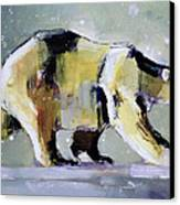 Ice Bear Canvas Print by Mark Adlington