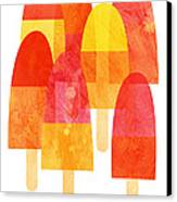Ice Lollies Canvas Print by Nic Squirrell