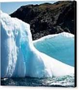 Ice Vii Canvas Print by David Pinsent
