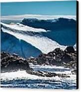 Ice Xix Canvas Print by David Pinsent