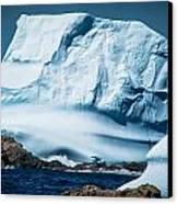 Ice Xxii Canvas Print by David Pinsent