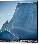 Ice Xxviii Canvas Print by David Pinsent