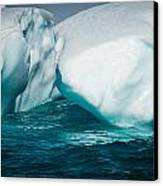 Ice Xxxi Canvas Print by David Pinsent