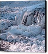 Iced Water Canvas Print