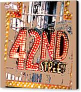 Iconic 42nd Street-nyc Canvas Print