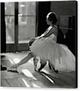 Ida Rubinstein Wearing A Tutu Canvas Print