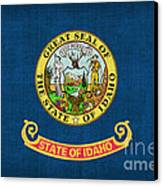 Idaho State Flag Canvas Print by Pixel Chimp