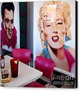 Idols Of The 50s Canvas Print by Eva Kato