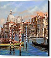 Il Canal Grande Canvas Print by Guido Borelli