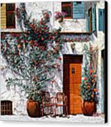 Il Cortile Bianco Canvas Print