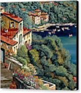 Il Promontorio Canvas Print by Guido Borelli