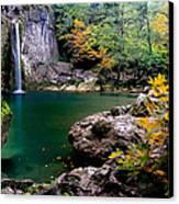 Ilica Waterfall - 2 Canvas Print
