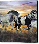 Imagination On The Run Canvas Print