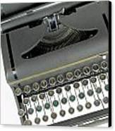 Imagination Typewriter Canvas Print