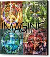 Imagine Canvas Print by Evie Cook