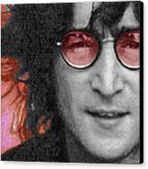Imagine John Lennon Again Canvas Print by Tony Rubino