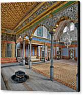 Imperial Hall Of Harem In Topkapi Palace Canvas Print by Ayhan Altun