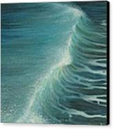Impetus Summer Wave Canvas Print by Kiril Stanchev