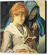In Church Canvas Print by Luigi da Rios