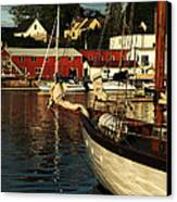 In Harbor Canvas Print by Karol Livote