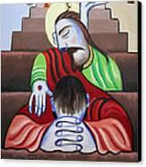 In Jesus Name Canvas Print