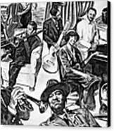 In Praise Of Jazz II Canvas Print by Steve Harrington