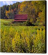 In The Heart Of Autumn Canvas Print