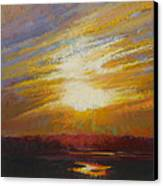 Incandescence Canvas Print by Ed Chesnovitch