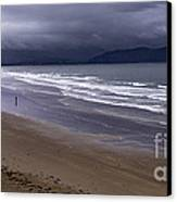 Inch Beach Co Kerry Ireland Canvas Print by Dick Wood