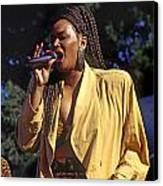Indeya Sings Canvas Print