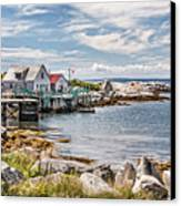 Indian Harbour Canvas Print by Gene Healy